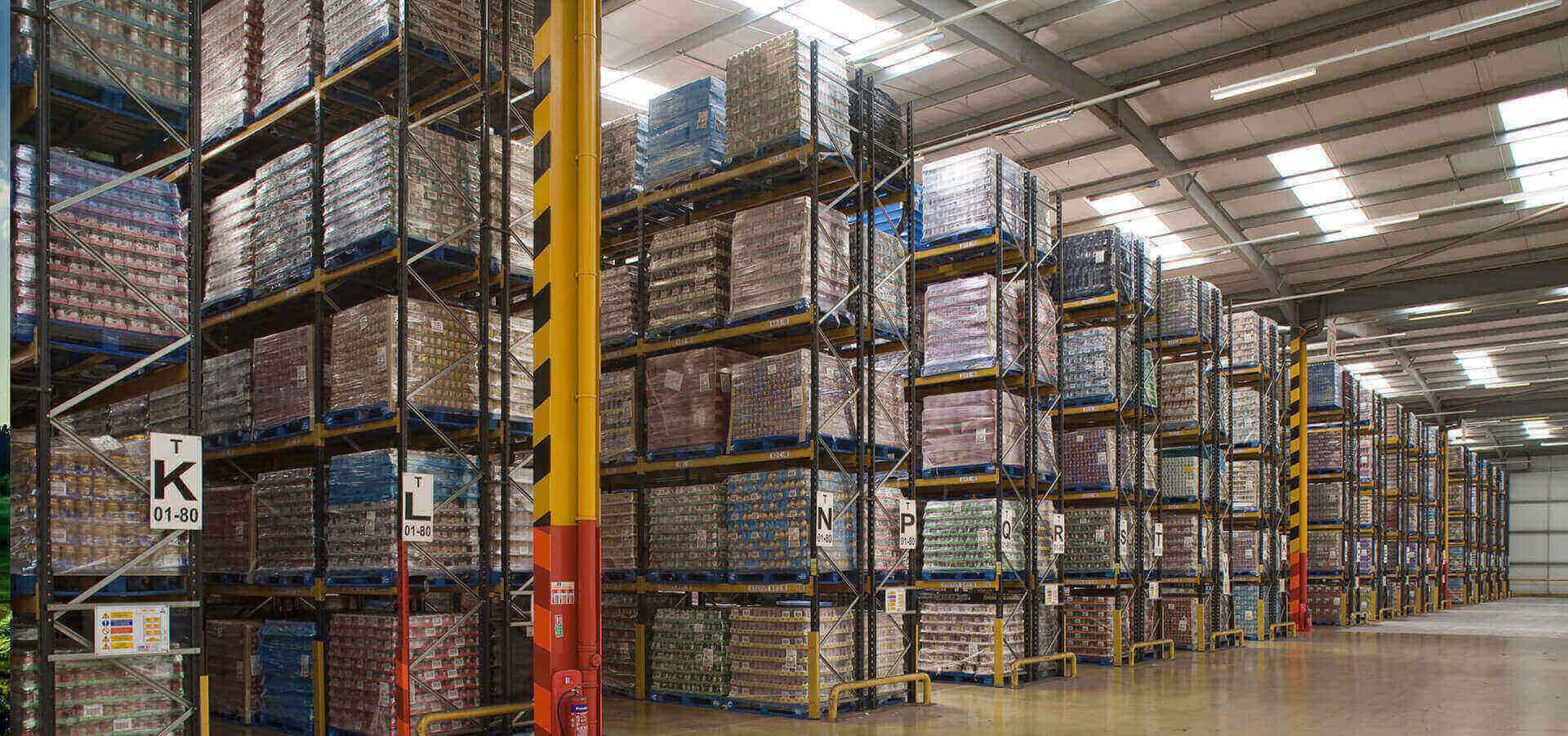 We are warehousing